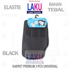 Honda Civic Genio Sedan Karpet Premium 3Pcs Universal Black