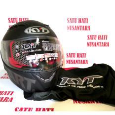 Promo Honda Ori Helm Helmet Kyt Black Matte Full Face Di North Sumatra