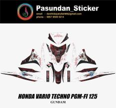 HONDA VARIO TECHNO PGM-FI 125 GUNDAM