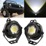 Beli Hot 2 Pcs 10 W Cree Led Off Road Spot Flash Head Light Untuk Mobil Jeep Boat 12 V 32 V Murah Di Tiongkok
