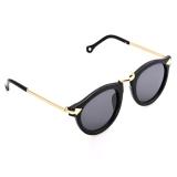Harga Hot Fashion Retro Unisex Glass Full Frame Sunglasses Original