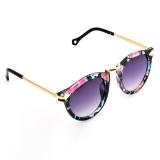 Hot Fashion Retro Unisex Glass Full Frame Sunglasses Oem Diskon 30