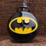 Spek Panas Retro Unik Batman Black Quartz Steampunk Pocket Watch Mens Analog Rantai Kalung Pria Womens Watches Hadiah Terbaik Intl