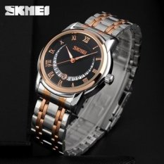 Hot ! Rose Gold Watch Luxury Brand High Quality Business Men Quartz Watch Fashion Wristwatches Montre Homme Clock For Man