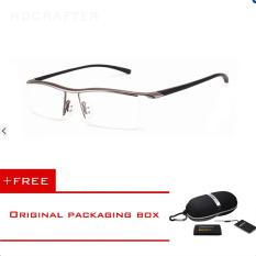 Jual Hdcrafter Miopia Ringan Antislip Pusat Buatan Setengah Lingkar Kacamata Bingkai Hdcrafter Original