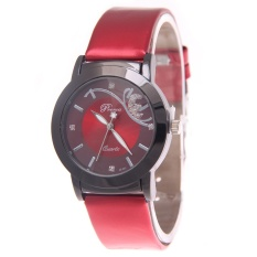 Hot Jual Fashion Ladies Jam QUARTZ Brand Baju Wanita Tali Kulit Wanita Watches Fashion Tahan Air Jam Tangan-Internasional