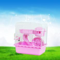 Hot jual Direkomendasikan Barang Large Luxury Jamur Kandang Untuk Hamster Transportasi Super Kandang Hamster Aksesoris Plastik Kelinci Percobaan Rumah # l23 * W16.5 * H25.5cm-Intl