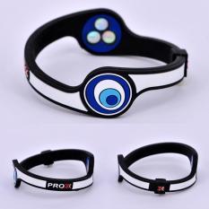 Jual Hottime 1600 Ion Energi Eco Silicone Bracelet Gelang Hologram Power Band Keseimbangan Energi Wristband Silicone Bracelet Untuk Pria Prox 3 Intl Branded Original