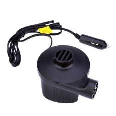 Household Car Electric Air Inflatable Pump 60W AC DC Power SupplyToy Inflator for Camping Airbed Boat   - intl