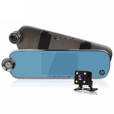 Ponsel HP F770 Spion Mengemudi Perekam Definisi Tinggi Malam Vision Ganda Lensa Lebar-Sudut Membalikkan Gambar 1080 p-Internasional
