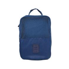 Harga Huolala Perjalanan Bagasi Sepatu Bag Pouch Zipper Nilon Organizer Handbag Underwear Penyimpanan Biru Tua Not Specified Original