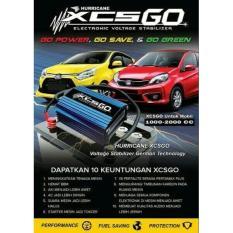 Hurricane XCS GO Untuk Mobil CC Kecil LCGC & City Car Garansi 5thn ORIGINAL Voltage Stabilizer