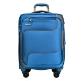 Beli Hush Puppies 693136 Soft Spinner Case Luggage 20 Blue Online Terpercaya