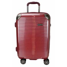 Harga Hush Puppies 694013 Polycarbonate Koper Hard Trolley Case Medium 25 Red Terbaik