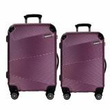 Spesifikasi Hush Puppies 694014 Pc Expandable Koper Hardcase 1 Set 20 Dan 25 Inch Purple Paling Bagus
