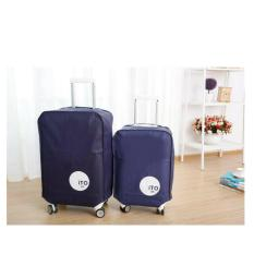 Harga Hw Cover Koper 20Inch Luggage Bag Cover Blue Navy Original