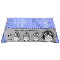 Beli Hy 2002 Hi Fi 12 V Mini Auto Mobil Stereo Amplifier 2 Channel Audio Amplifier Dukungan Cd Dvd Mp3 Input Untuk Sepeda Motor Rumah Biru Online