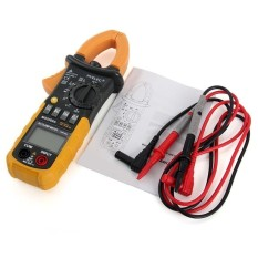 HYELEC MS2008A Digital Clamp Multimeter AC/DC Tegangan/ACCurrent/Perlawanan Penguji-Internasional