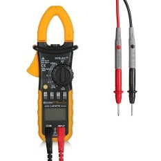 HYELEC MS2108A Digital Clamp Multimeter AC DC Voltage andCurrent/Resistance / Capacitance / Frequency / Duty Cycle Tester - intl