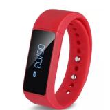 Beli I5 Plus Smart Gelang Gelang Ip67 Tahan Air Watches Smartband Bluetooth 4 Dengan Tidur Tracker Kesehatan Fitn Merah Nyicil