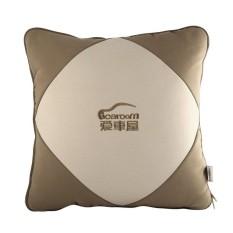 ICAROOM I-129B Cushion Blanket 2 In 1 Square Throw Pillow Terungkap Selimut untuk Mobil Kantor Sofa Travel Selimut Tipis MULTI Tujuan...-Intl