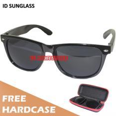 Cuci Gudang Id Sunglass Kacamata Wayfar Pria Wanita Frame Hitam Lensa Hitam Sun 1016 01
