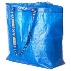 Ikea Frakta Kantong Tas Belanja Serbaguna 2 Pcs - 36 Liter - Biru