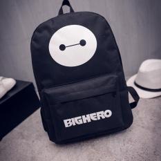 (Imported)BEST-REWT High Quality 2017 Korea Fashion Boys Canvas personalized Teens Backpack School Book Shoulder Bag for school jansport - intl