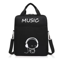(Imported)BEST-RTE High Quality 2017 Korea Fashion Boys Canvas personalized Teens Backpack School Book Shoulder Bag for school jansport - intl