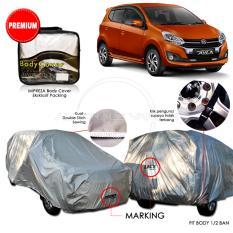 Review Terbaik Premium Body Cover Mobil Impreza Ayla Gray
