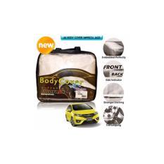 Impreza Body Cover Mobil for Honda New Jazz Th 2015-2017 - Grey/selimut mobil/pelindung mobil