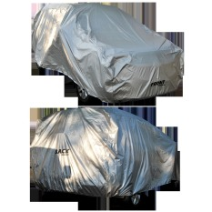 Beli Impreza Body Cover Mobil For Nissan Datsun Go Abu Abu Secara Angsuran