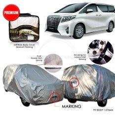 Ongkos Kirim Premium Body Cover Mobil Impreza Toyota Alphard Gray Di Jawa Timur