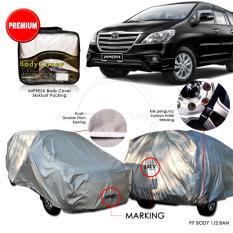 Harga Premium Body Cover Mobil Impreza Toyota Innova Gray Fullset Murah