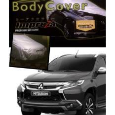 Impreza Body Cover Mobil Mitsubishi New Pajero Sport Th 2016-2017 - Grey/selimut mobil/pelindung mobil