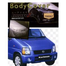 Impreza Body Cover Mobil Suzuki Karimun GX - Grey/selimut mobil/pelindung mobil