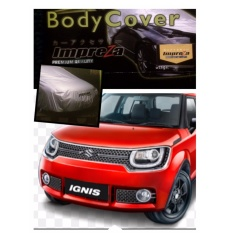 PADIE - IMPREZA PREMIUM Body Cover SUZUKI IGNIS - Grey / Pelindung Mobil / Selimut Mobil / Sarung Mobil