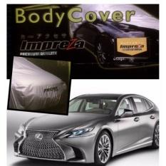 IMPREZA PREMIUM Body Cover  TOYOTA LEXUS ( SEDAN ) - Grey / Pelindung Mobil / Selimut Mobil / Sarung Mobil