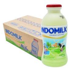 Miliki Segera Indomilk Susu Cair Rasa Melon 190Ml Karton Isi 24