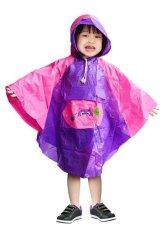Promo Indoplast Jas Hujan Anak Poncil Ungu Pink