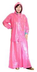 Beli Indoplast Jas Hujan Jaket Rok Puspa Pink Online Terpercaya