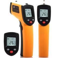 Infared Termometer Termo Thermogun Thermometer Gun Infrared Digital Alat  Ukur Pengukur Suhu Infra Merah Tembak e98b74f7af