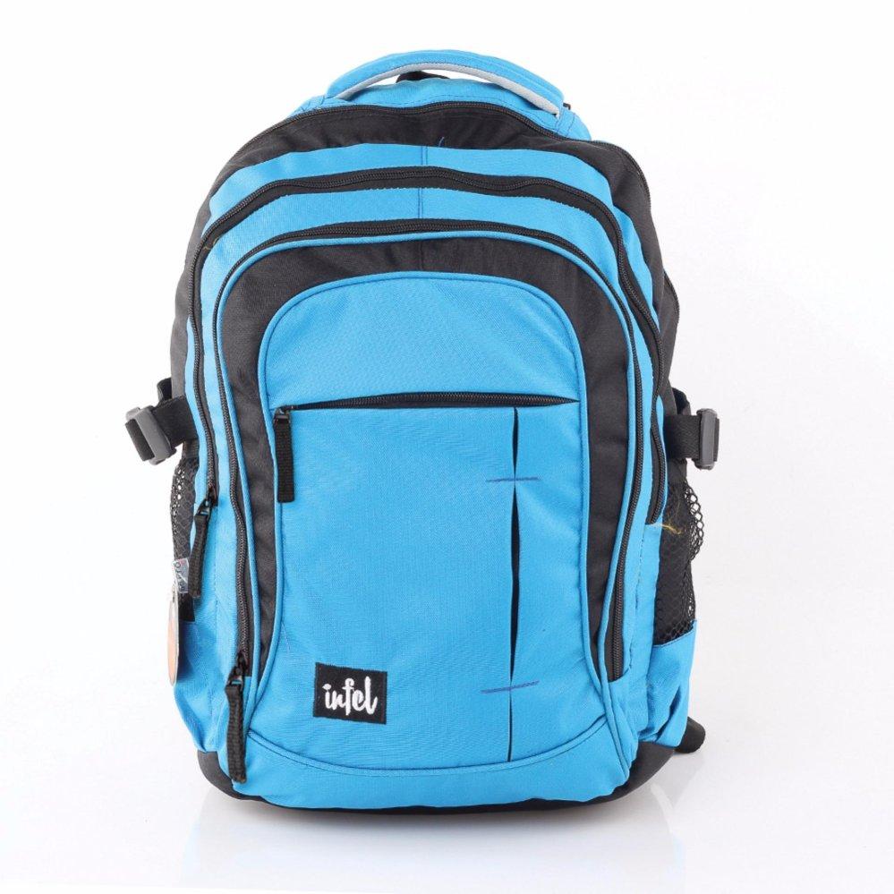 ... Inficlo Backpack tas laptop best seller Tas Ransel SBRx561 Black Blue