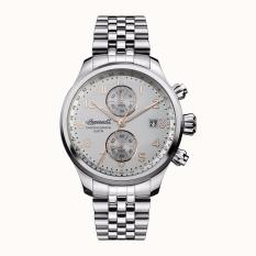INGERSOLL I02501 - The Delta - Chronograph - Jam Tangan Pria - Bahan Tali Stainless Steel - Silver