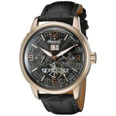 Ingersoll Men's IN1222RGBK Connecticut Analog Display Automatic Self Wind Black Watch - intl