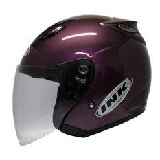 INK Centro Helm Open Face - Ungu