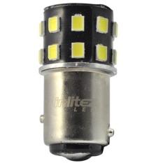 Spesifikasi Inlitez Led Bohlamp Rem Putar Double 24 Led Putih Lampu Led Mobil Dan Motor 2 Pcs Yg Baik