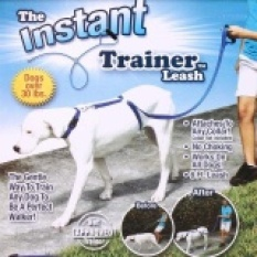Instant Trainer Dog Leash Trains Dogs 30 Lbs Stop Pulling Tv Dogwalk Hot - intl