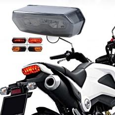 Terintegrasi LED Rear Stop Tail Turn Signal Light Honda Grom 125 MSX 2013-2016-Intl