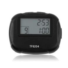 Selang Penghitung Waktu Stopwatch Gimnasium Wasit Atlet Kompak Berat Tugas Kebugaran Penghitung Waktu-Internasional
